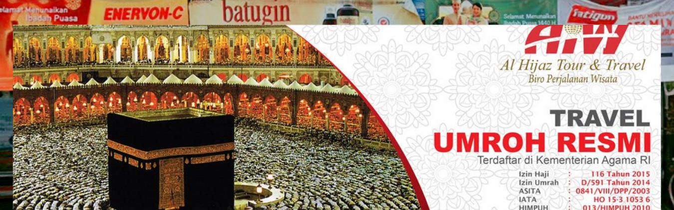 Promo Umroh Hemat Alhijaz di Pinang Tangerang Hubungi 082119542813