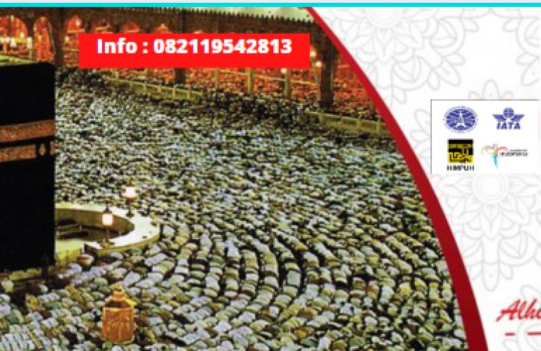 Paket Umroh Murah Alhijaz Indowisata, Hubungi Via WA 6282119542813